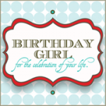 Birthday Girl Giveaway