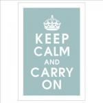 Keep Calm …