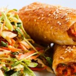 Chicken and Vegie Sausage Rolls