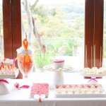 Bright and Fun Dessert Table
