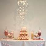 Pretty Pink Christening Table