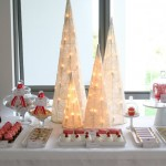 Christmas Drinks Dessert Table