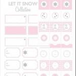 Christmas Printables Giveaway by Ooh La La Studio