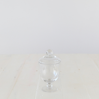 Sabine Glass Jar &#8211; Small