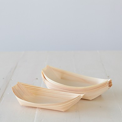Pine Food Boat – Large
