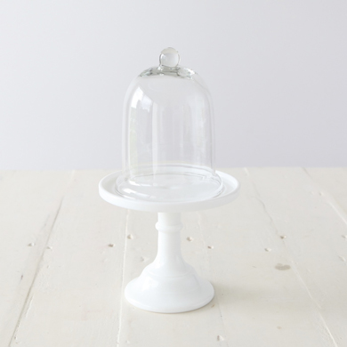 Anna Glass Cloche &#8211; Small
