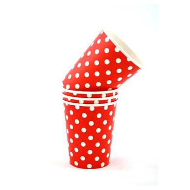 Cups – Sambellina Polkadot Red