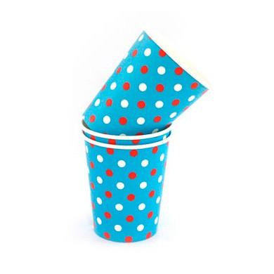 Cups – Sambellina Polkadot Multi Blue