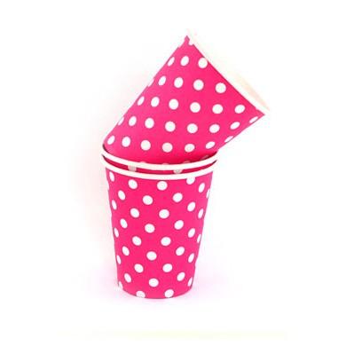 Cups – Sambellina Polkadot Raspberry Pink