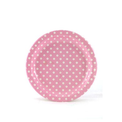 Sambellina Plates – Polkadot Pink