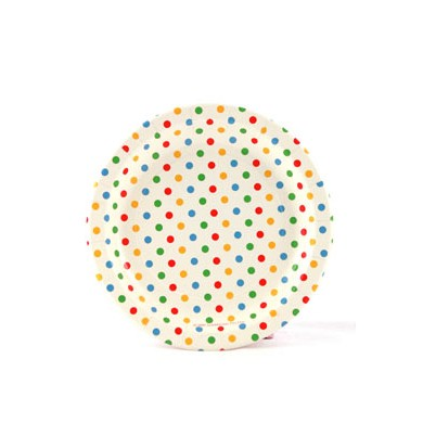 Sambellina Plates – Polkadot Multi Coloured