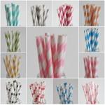 Delicious Paper Straws