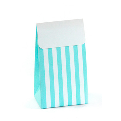 Treat Boxes – Blue Stripe