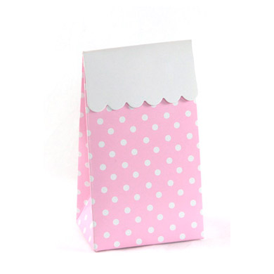 Treat Box &#8211; Pink Polkadot