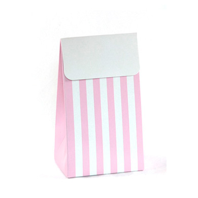 Treat Boxes &#8211; Pink Stripe