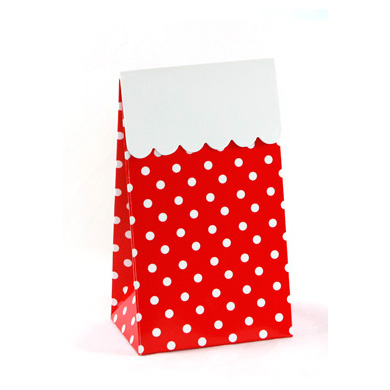 Treat Boxes – Red Polkadot