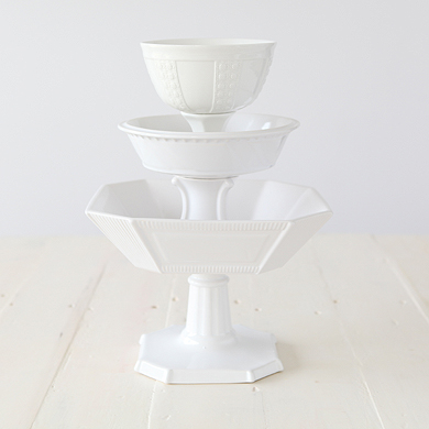 La Patisserie Footed Bowl Set