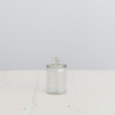 Glass French Apothecary Jar – Mini Set of 12