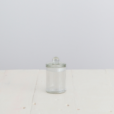 Glass French Apothecary Jar &#8211; Mini