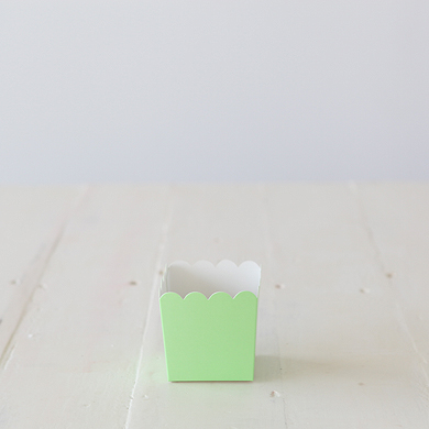 Scalloped Box &#8211; Green