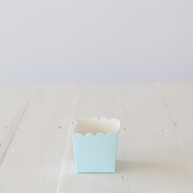 Scalloped Box – Blue