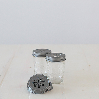 Mason Jar Stamped Lid