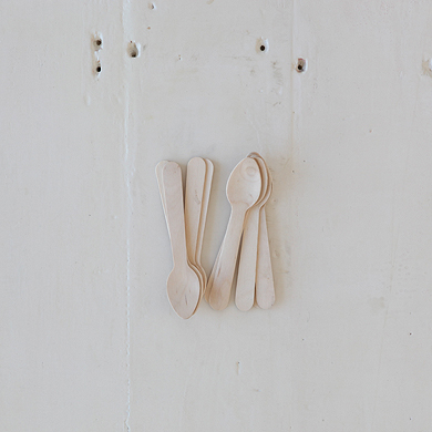 Wooden Cutlery – Tea Spoons