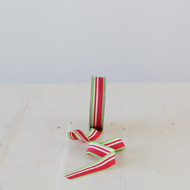 Ribbon &#8211; St Nick Red/Green
