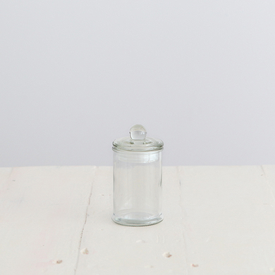 Glass French Apothecary Jar &#8211; Small