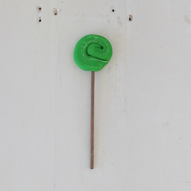Plain Round Lollipop &#8211; Green