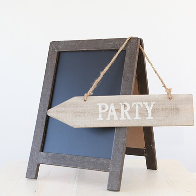 Drift Wood Party Sign