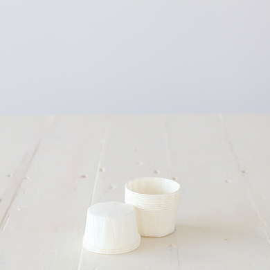 Baking Candy Cups – White