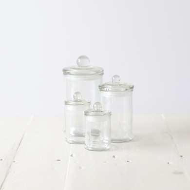 Glass French Apothecary Jar &#8211; Large
