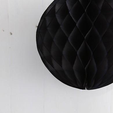 Tissue Paper Balls – Black