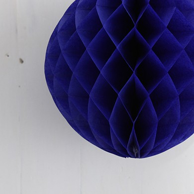 Tissue Paper Balls – Dark Blue