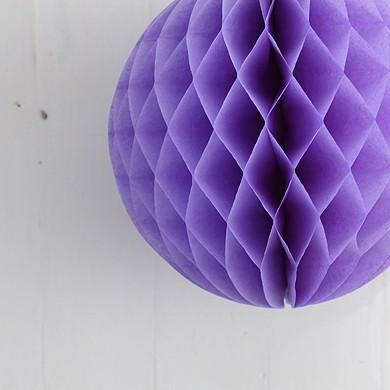 Tissue Paper Balls – Lavender