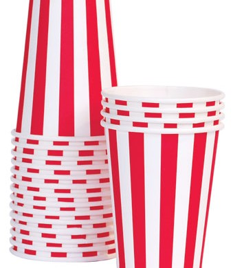 Cup – Candy Cane Red