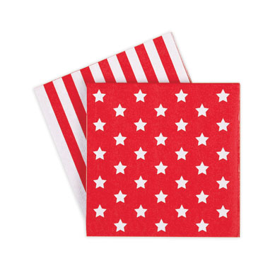 Napkin – Red Star