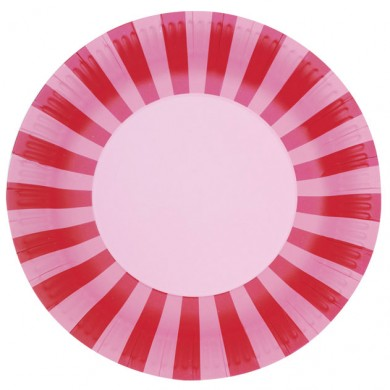 Plate &#8211; Pink Floss