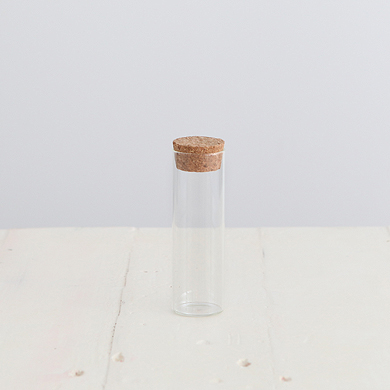 Glass Test Tube Favour Bottle