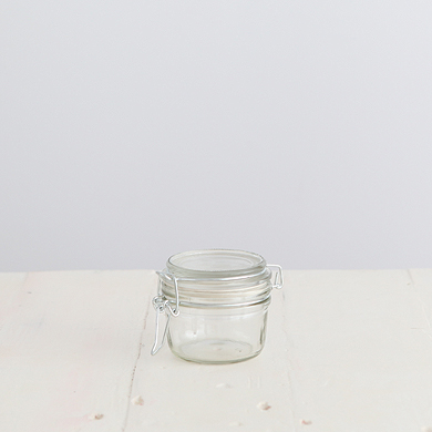 Glass Mini Clip Jar &#8211; 150ml