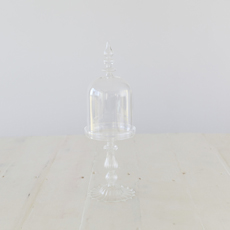 Crosby Glass Dome with Base Narrow