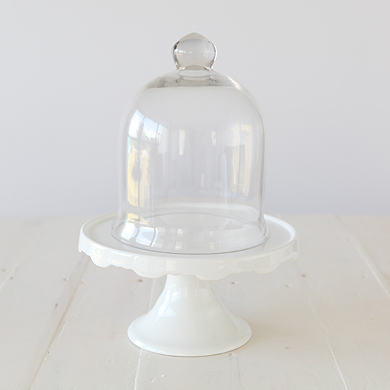 Candice Glass Dome Small
