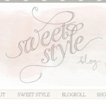 Welcome to the new Sweet Style Blog