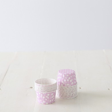 Baking Candy Cups – Pink Dot