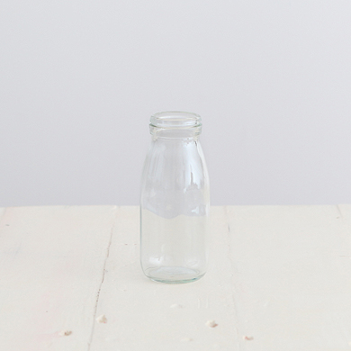 Glass Drink Bottle Small