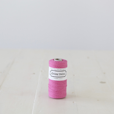 Divine Twine &#8211; Solid Deep Pink
