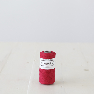 Divine Twine &#8211; Solid Red