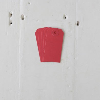 Luggage Tag – Small Red