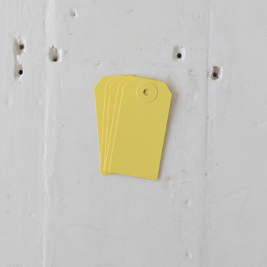 Luggage Tag – Small Yellow